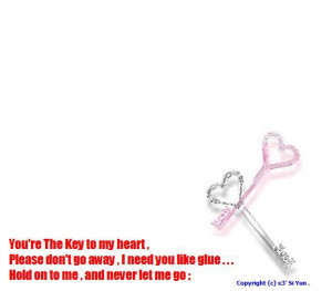 Love Quotes Key To My Heart