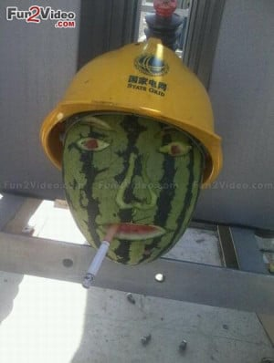 funny food make you smile laugh and you say what a funny watermelon ...