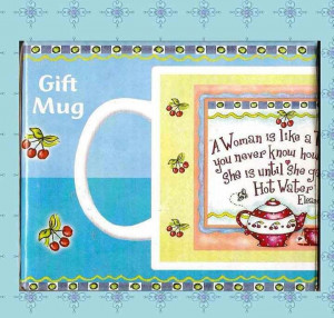 Barbara Ann Kenney's Eleanor Roosevelt Tea quote mug...by Leanin' Tree
