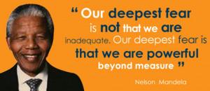 NELSON MANDELA, símbolo de la Libertad.