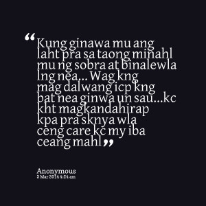 Icp Quotes Quotes picture: kung ginawa mu