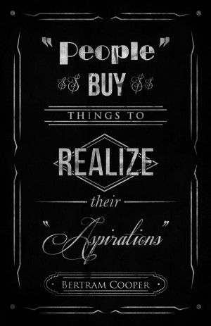 Mad Men Quotes on Behance