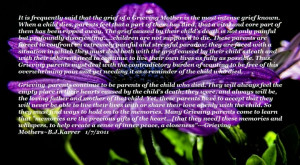 Grieving Mothers Sayings