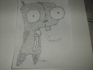 Gir Quotes Gir drawn with gir quotes by