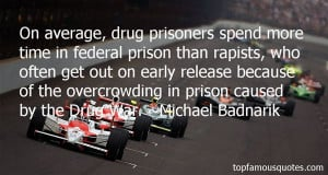 On average, drug prisoners spend more time in federal prison than ...
