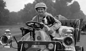 Actress Dinah Sheridan...