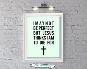 Printable funny christian quote, wa ll art decor ...
