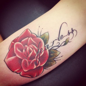 fearless-flower-tattoo-jessica-devries-my-tattoo-red-rose-Favim.com ...