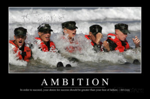 Ambition: Inspirational Quote and Motivational Poster Photographic ...