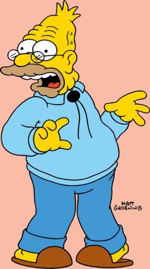 Blog de homersimpsoms :Les simpsons, Grand-père Simpsons