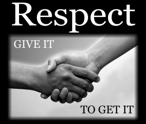 handshake a respect for other
