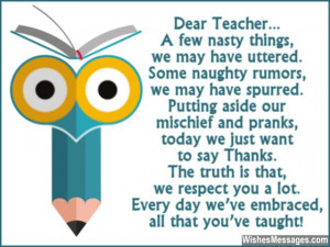 Teacher Appreciation Quotes: Famous Sayings For Teachers And.