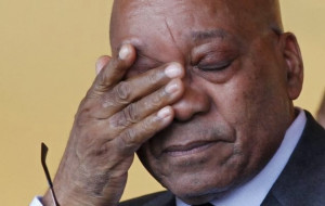 Zuma spoke on Monday at the Gauteng Manifesto Forum at the University ...