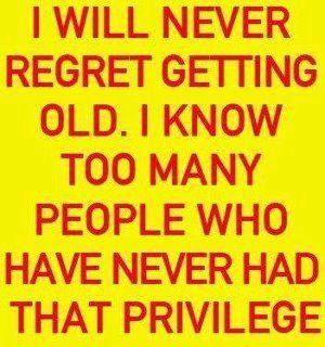 no regrets.....