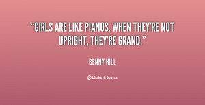Benny Hill Quotes and Sayings