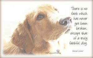 Faithful Dog