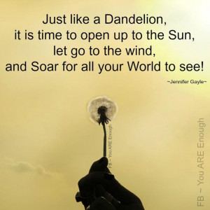 Dandelion Quotes & Signs