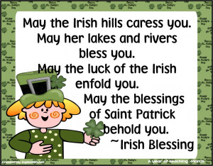 May the Irish Hill Caress You ~ Blessing Quote