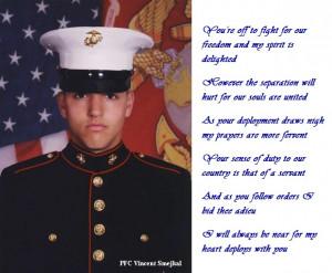 fallen soldier poems