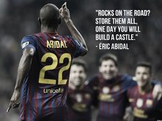 little motivation from a professional soccer player who returned to ...