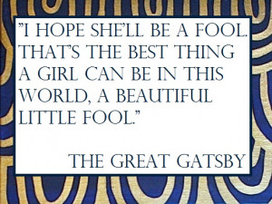 The Great Gatsby Quotes!