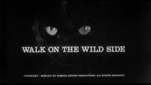 walk on the wild side walk on the wild side 1962