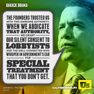 The founders trusted us with this awesome authority. When we abdicate ...