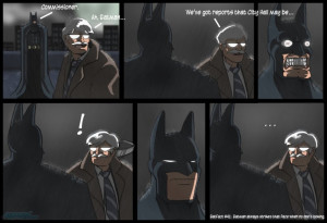Funny BATMAN Humor Comic Strips!