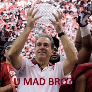 Re: IF THE TIDE NEVER LOOSES ANOTHER GAME, IT'S STILL ALABAMA