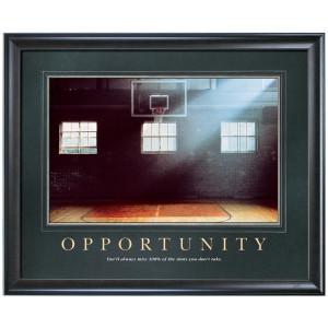 Opportunity Basketball Motivational Poster (733294)