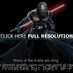 movie, star wars, quotes, sayings, fool, follow, famous quote movie