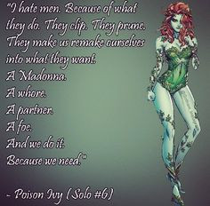 poison ivy more poison ivy geeky ivy harley jokers poisons ivy and ...