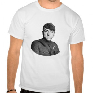 Eddie Rickenbacker and Quote T-shirts