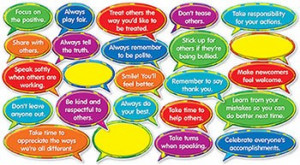 ... 546916 - Good Character Quotes Mini Bulletin Board Set in Motivational