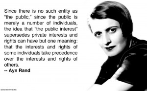 Ayn Rand Quote - Atlas Shrugged Part 2 - HustleBear.com