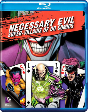NECESSARY EVIL: SUPER-VILLAINS OF DC COMICS Blu-ray Review