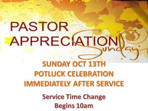 Pastor Appreciation Celebration