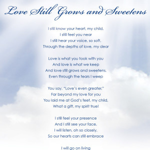 poems about loss of loved one poems about loss of loved one