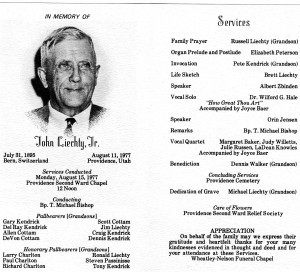 Lds Funeral Program Sample Hawaii Dermatology Picture
