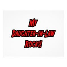 Quotes About Daughters In Law   My Daughter-in-law Rocks >> Wedding ...