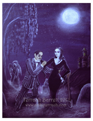 Gomez and Morticia by Terrauh