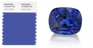 Dazzling Blue Pantone Colors Spring 2014