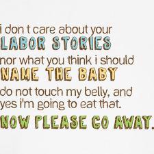 Funny T Shirt Sayings for Pregnant Mammas
