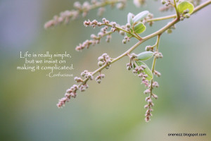 life complicated quotes