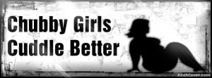 Chubby girls Facebook Cover