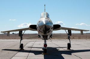 US Air Force F-105G Thunderchief Terry Wall