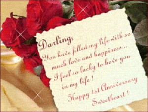 Darling You Have Filled My Life With So Much Love and Happiness ...