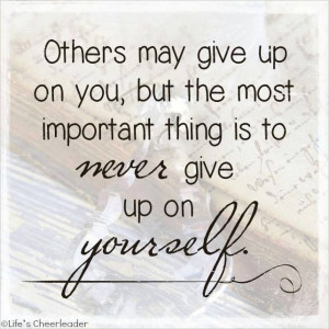 quotes about giving up on family quotesgram