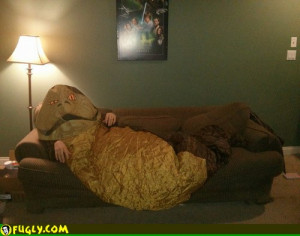 Jabba The Hut Snuggie