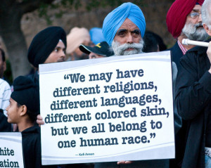 Sikh Activist Seeking Respect for Human Dignity (Photo: Credit Adalto ...